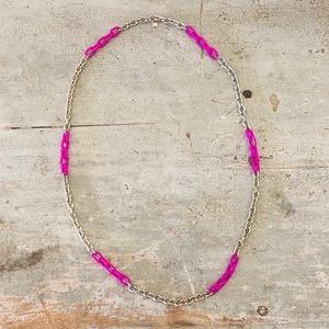 ♥️ J. Crew ♥️ Purple Chain Necklace